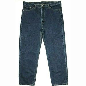 Levi's 42x32 550 Relaxed Fit Medium Wash Jeans GUC